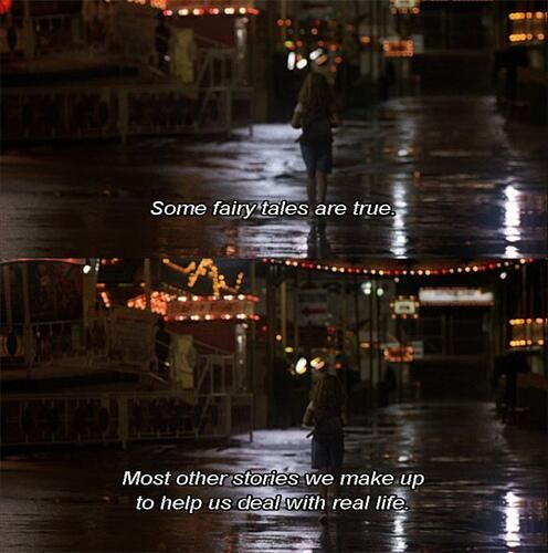 """""""Some fairy tales are true. Most other stories we make up to help us deal with real life."""" - Uptown Girls (2003)"""