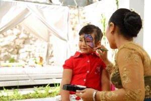 Face Painting at SAMABE - Kids Club 2