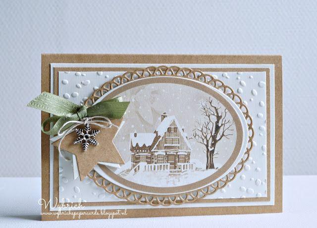 Cards made by Wybrich: Marianne Design challenge 158