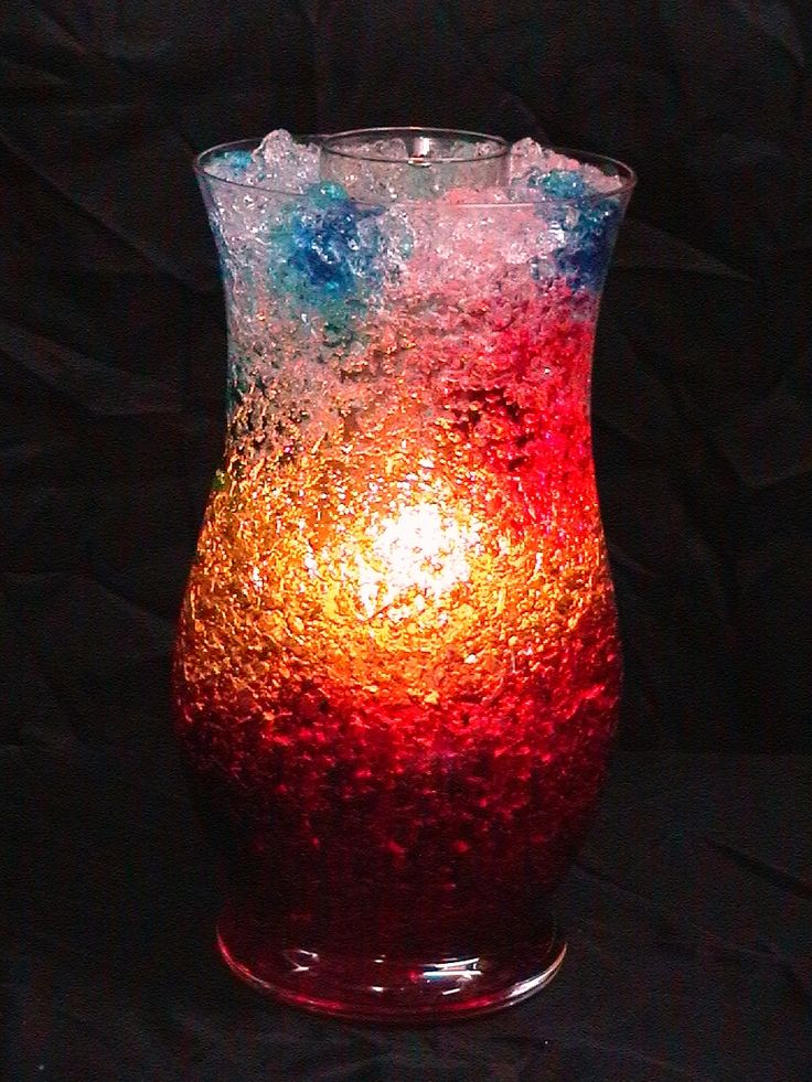 TRY FLORA GEL TODAY!  This clear gel can be dyed to match any #colour for any occasion. Add a unique look to your next #display or #centrepiece. GET IT TODAY!    https://www.polymerinnovations.com.au/product/flora-gel/ #Party #Event #Wedding #Floral #Flowers #Candle #Blue #Red