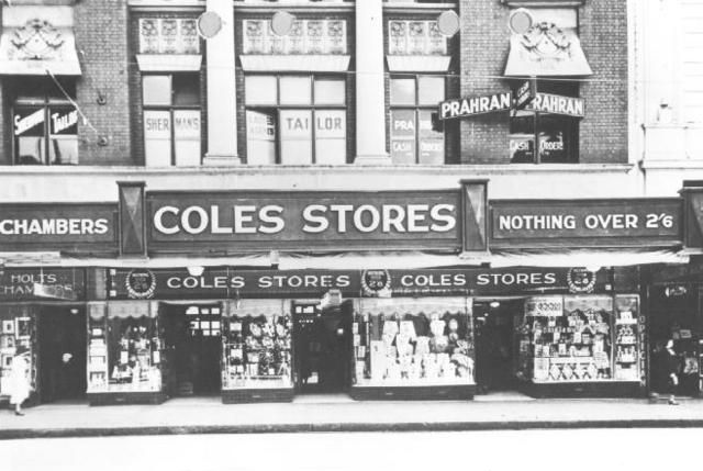 [Coles Store in Prahran]