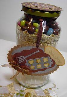 bitavin's Bastel-Blog: Cookies im Glas