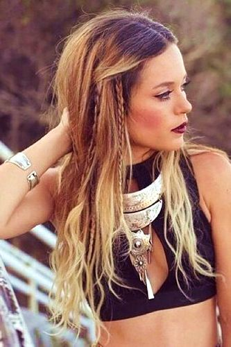 hippie style hair best 25 bohemian hairstyles ideas on hippy 9456 | 79b36accc6ab42f726f6a23ee229b471