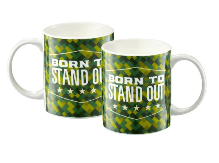 Kubek Inspire Born to stand out 350 ml AMBITION