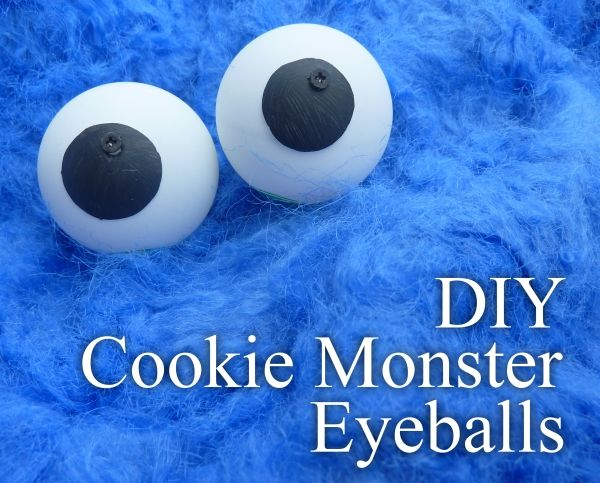 DIY Googly (Cookie Monster) Eyes | Halloween costume toddler ...