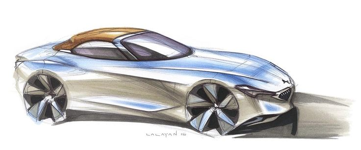 BMW Z on Behance