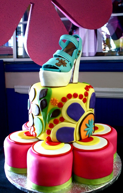 70's Theme Cake