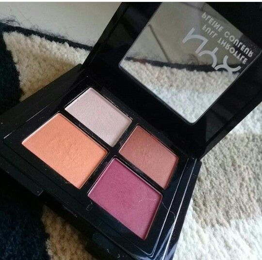 My nyx full throttle pallete    Pictures belong to  stylewithmepretty  Follow @stylewithmepretty on instagram   twitter :@stylepretty2