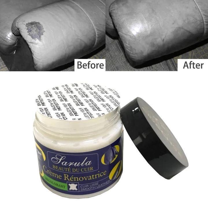Worn Car Seat Sofa Leather Repair Cream Color Paste Dye Colour Restorer Renew