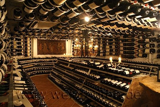 Big Bottle Cellar with more than 5000 bottles - Hospiz, Austria