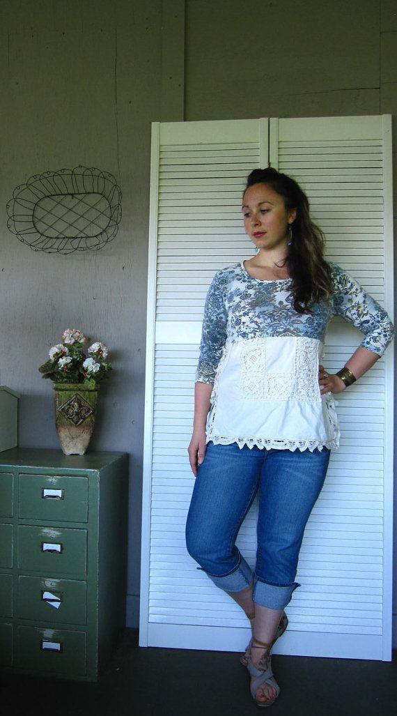 Camicia abbigliamento Casual di eco Boemia di lillienoradrygoods,