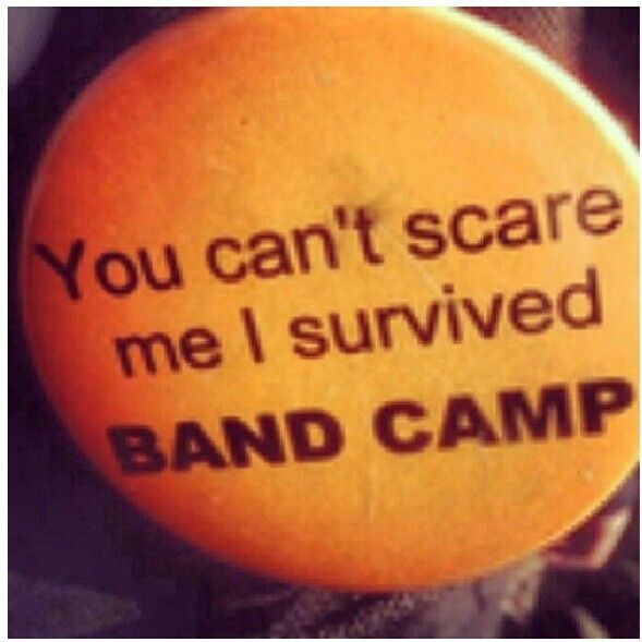 Band camp just finished my first one :)