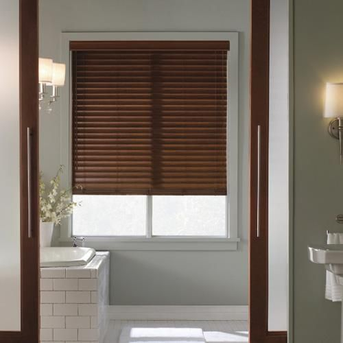 30 Best 2 Brown Faux Wood Blinds Images On Pinterest