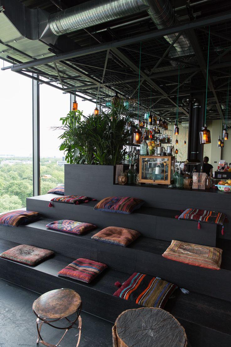 rooftop monkey bar at the 25 hours hotel bikini // berlin barefootstyling.com