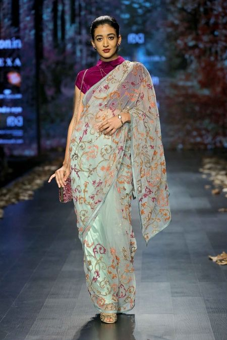 ebb93da1125ed 0574 Shyamal Bhumika Shyamal And Bhumika, Indian Designer Wear, Saree  Blouse, Sarees,