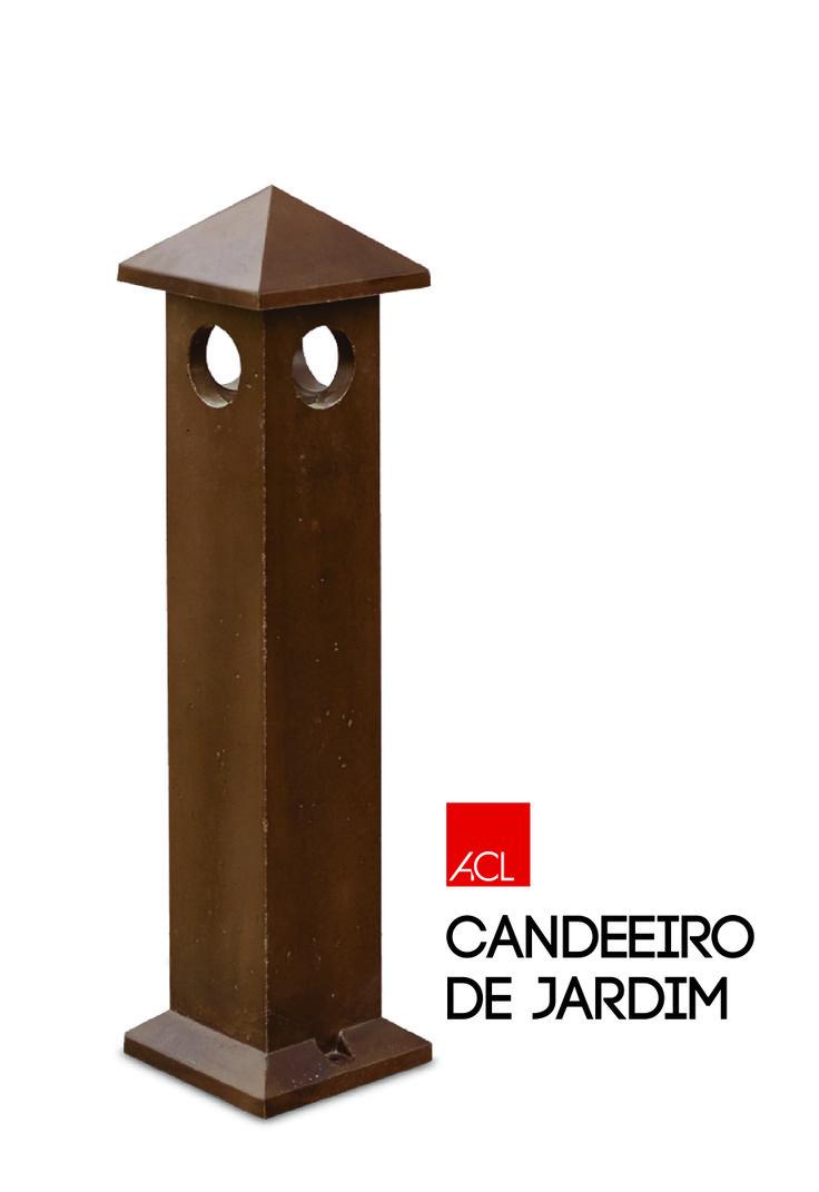 Candeeiro de Jardim l Garden Lamp #acl #acimenteiradolouro #jardim #candeeirodejardim #betao #garden #gardenlamp #concrete #landscapearchitecture