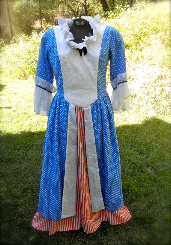BETSY ROSS Costume // 1970s // Patriotic Costume // by ...