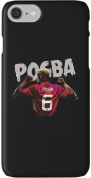 pogba is number six iPhone 7 Cases