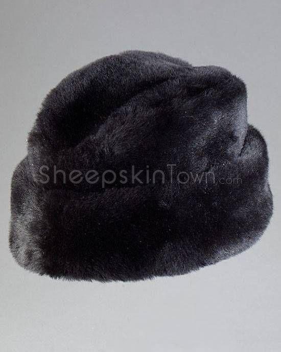mouton wool hats for men | Black Russian Cossack Hat - Mouton Sheepskin
