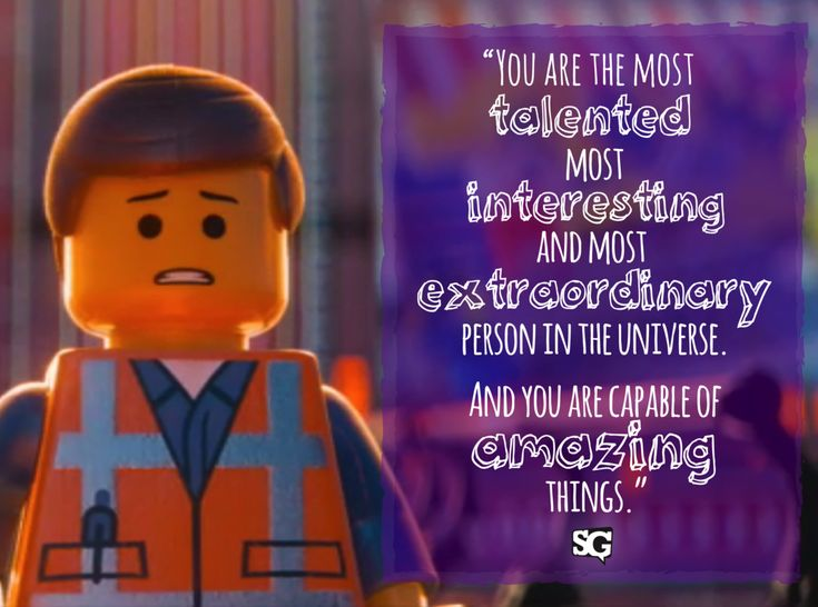 """Motivational Movies: Why We're Watching """"The Lego Movie"""" Before Nationals - SpeechGeek Market"""
