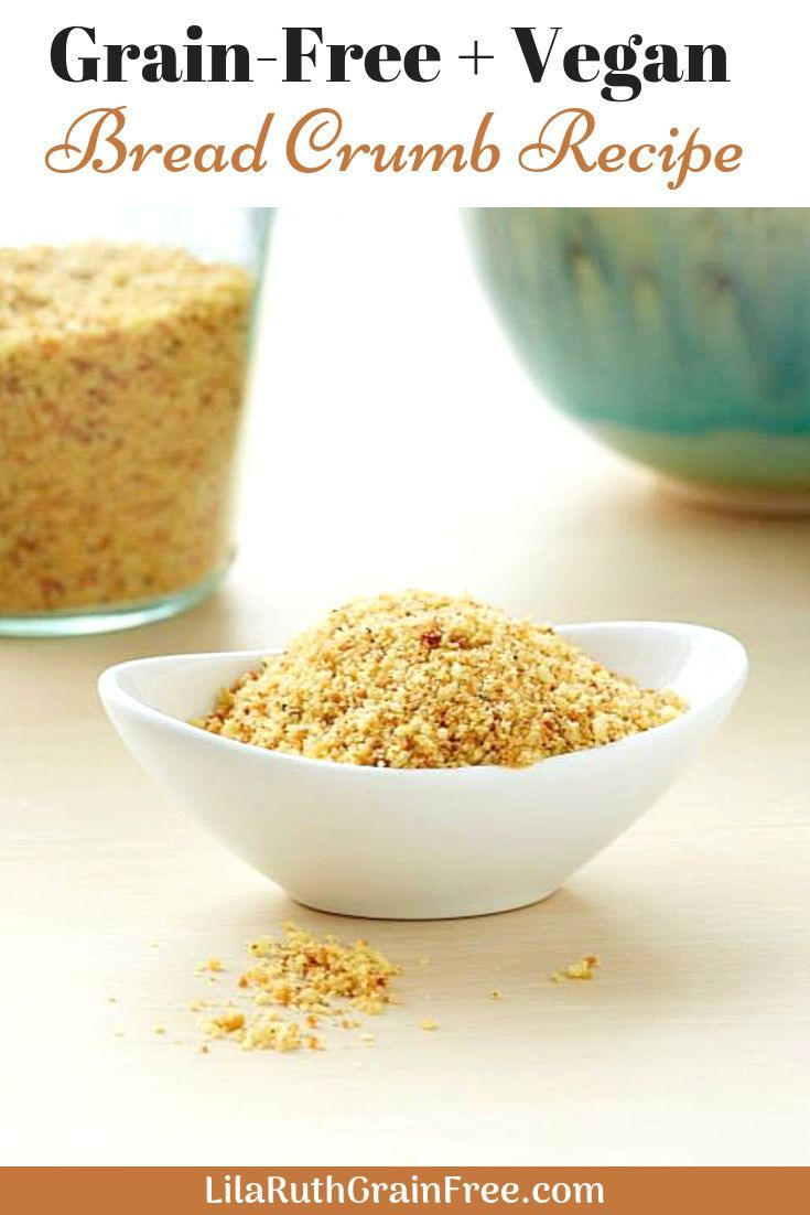 Grain Free Bread Crumbs