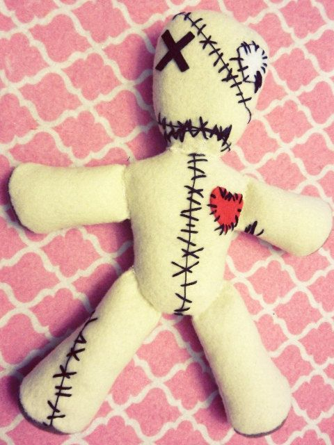 Kpop Vixx Voodoo Doll Plushie plush toy doll by kirbychan on Etsy