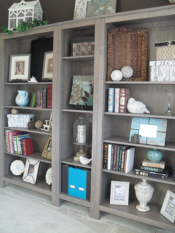 10 Best Images About Living Room Bookshelves On Pinterest