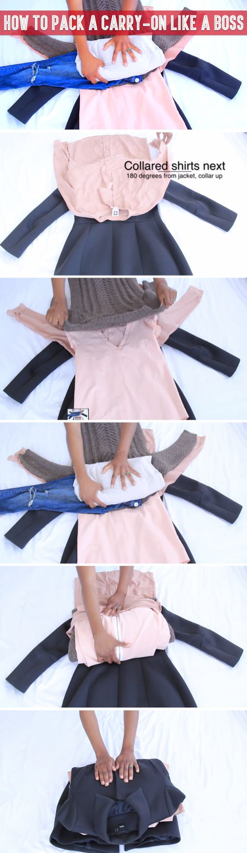 Check Out This Life Hack And You You have been packing your belongings all wrong until now – this is the right way to do it! Will Never Worry About Forgetting Your Clothes At Home Again!