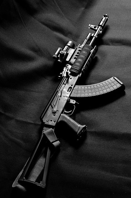 Krebs custom AK-47.