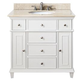 bathroom shop lowes in vanity white estate casual rsi by pd inch at southport