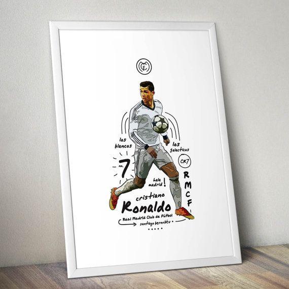 Cristiano Ronaldo Real Madrid Print