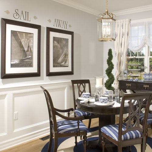 25 best ideas about Nautical dining rooms on Pinterest Blue