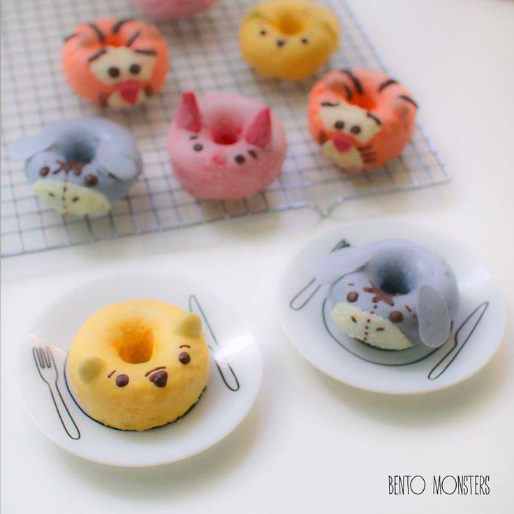 Pooh bear donuts
