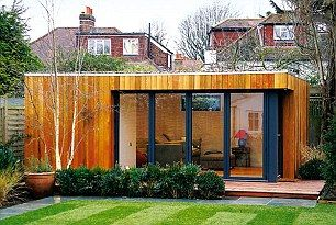 This studio, clad in western red cedar with solid wooden flooring, starts at £18,000 (W5m x D3m x H2.5m), Garden Spaces, gardenspaces.co.uk