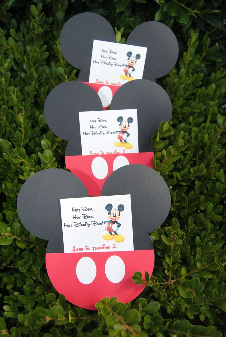 20 Mickey Mouse Invitations Mickey Mouse Party by HelloFaith, $35.00
