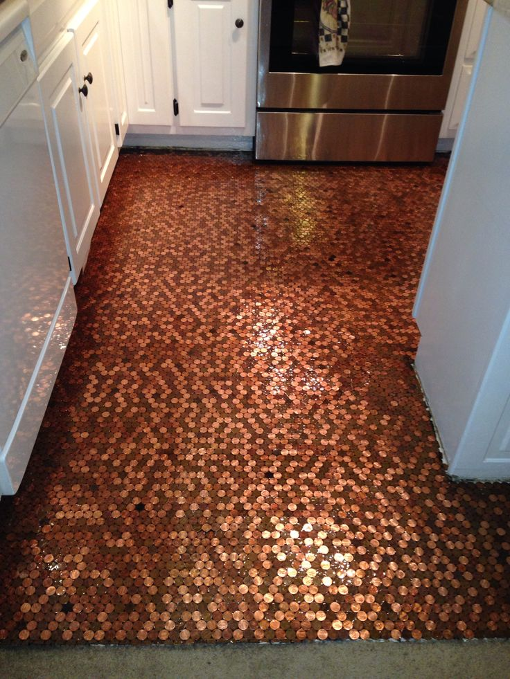 My Penny Floor My Penny Floor Pinterest Kitchens