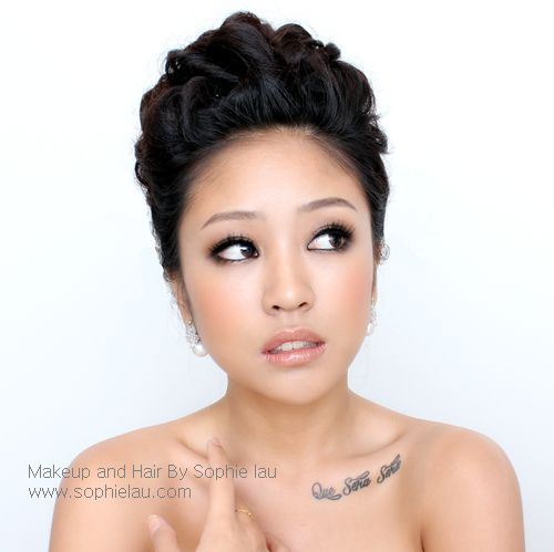 Asian wedding makeup www.sophielau.com  she is georgeeeousususususehofuehsefedhg