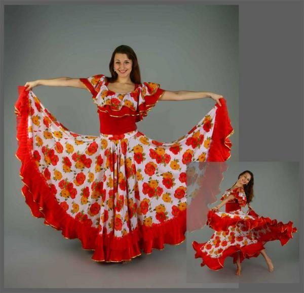 Для пошива цыганской юбки