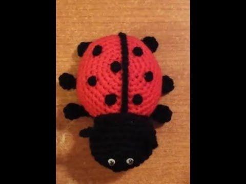 ▶ Coccinella all'uncinetto amigurumi tutorial crochet - YouTube