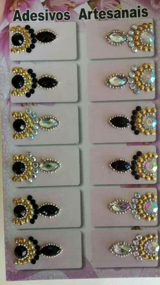 Adesivo De Moto No Grau ~ 25+ melhores ideias sobre Unhas De Cristal no Pinterest Unhas de jóias, Unhas bonitas e Unhas