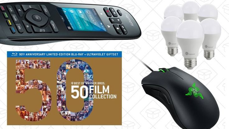Today's Best Deals: Harmony Remotes, Warner Bros. Box Sets, Razer DeathAdder, and More