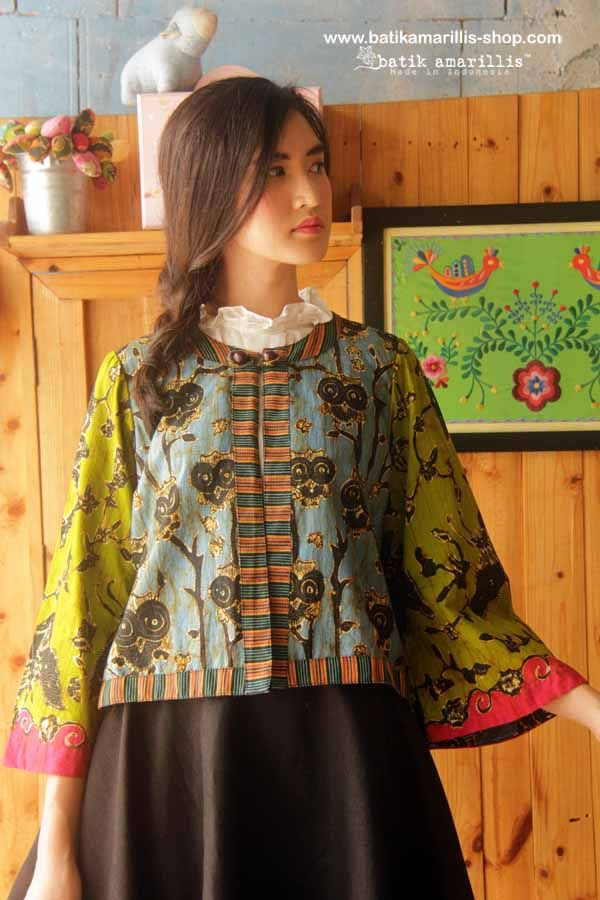 Batik Amarillis Made In Indonesia proudly presents... Batik Amarillis's…