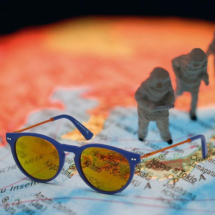 Never stop exploring.  Web Eyewear sunglasses style WE0139.