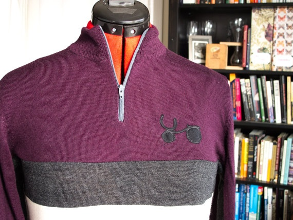 123f7dfb6613 ... Sample Sale -- Upcycled Womens Merino Cycling Jersey (MaroonGray) best  authentic 60574 6a627 ...