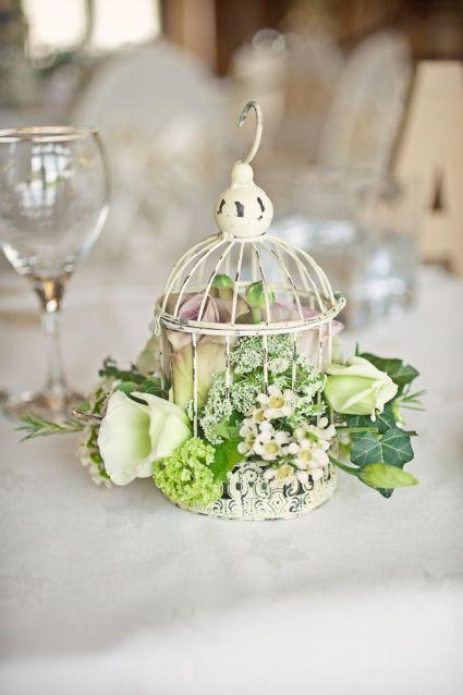 Decoración para boda vintage [Fotos]
