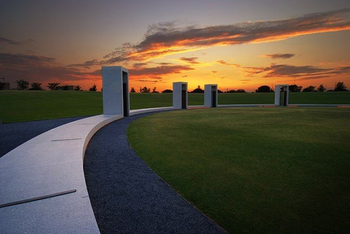 Bonfire Memorial on the Texas A&M University campus in College Station, TX.