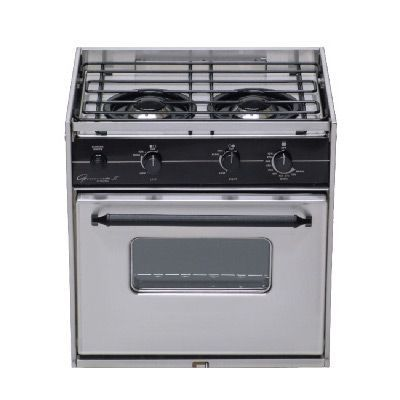 2 burner propane stove and oven
