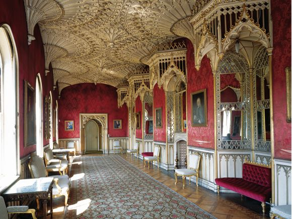 Strawberry Hill House London England Gallery Designed By Thomas Pitt 1759 1762
