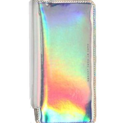 Hologram women's metalic glitter clutch purse - wallet