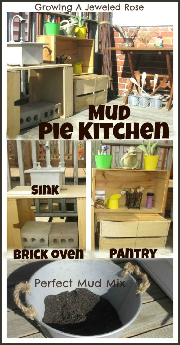 31 Best Mud Kitchens For Outdoor Play Images On Pinterest